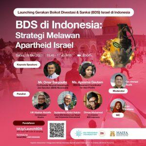 Foto: flayer lounching BDS Indonesia yang disebarkan